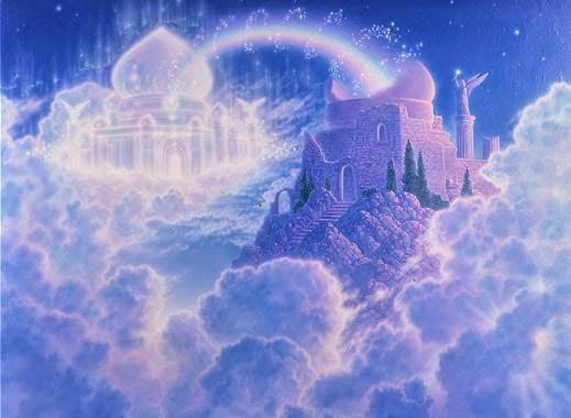 sonhos castelos nas nuvens