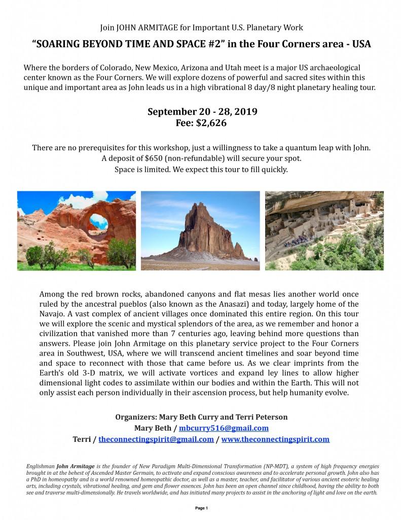 Armitage Southwest Tour Flyer 2019-1